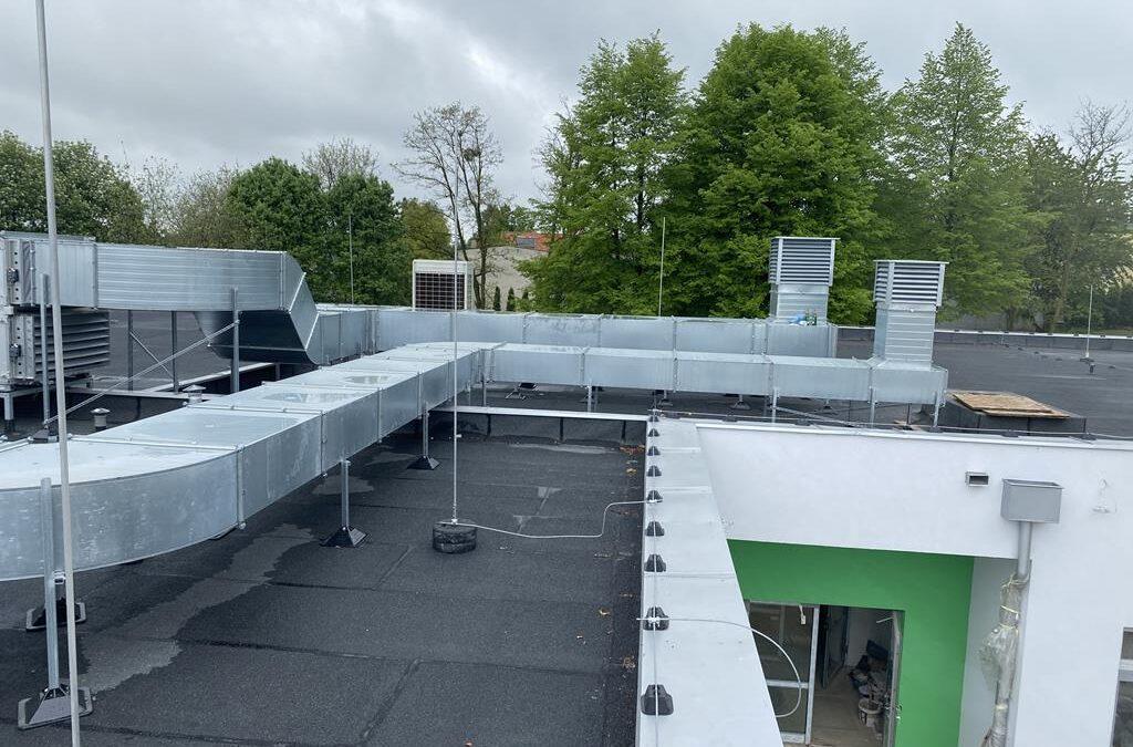 Serwis i uruchomienie dużej instalacji klimatyzacyjnej w Mikołowie